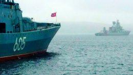 Корабли Северного флота готовятся к межфлотскому переходу для участия в Главном военно-морского параде в Кронштадте