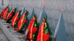 В Севастополе отданы воинские почести воинам, павшим при обороне города в годы Великой Отечественной войны