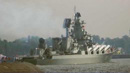 Отряд боевых кораблей Северного флота прибыл в Финский залив для участия в Главном Военно-Морском Парад