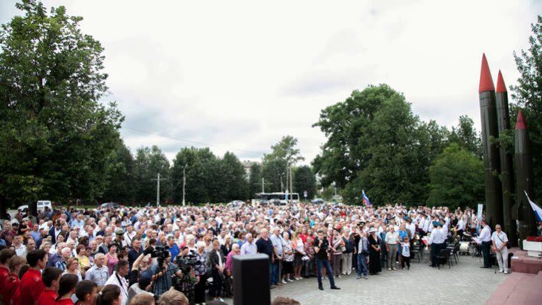 В Коломне открыт памятный знак курсантам-артиллеристам