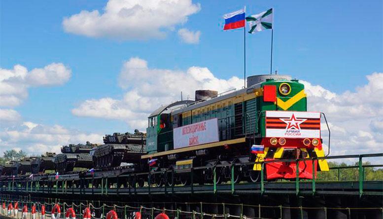 6 августа – День Железнодорожных войск.