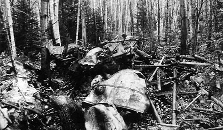 Обломки ТБ-3РН-34