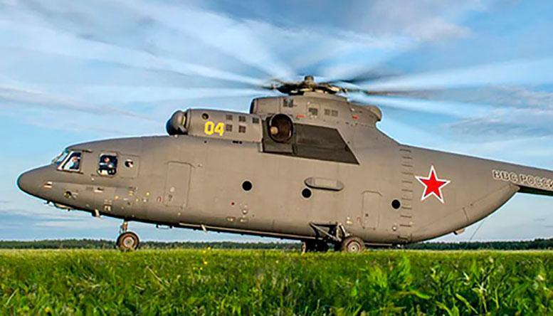 На МВТФ «Армия-2018» будет продемонстрирован новейший вертолет Ми-26Т2В