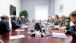 Россия готова максимально использовать потенциал военного сотрудничества с Анголой
