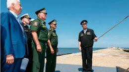 Министр обороны России прибыл в Дагестан для проверки строительства инфраструктуры Каспийской флотилии