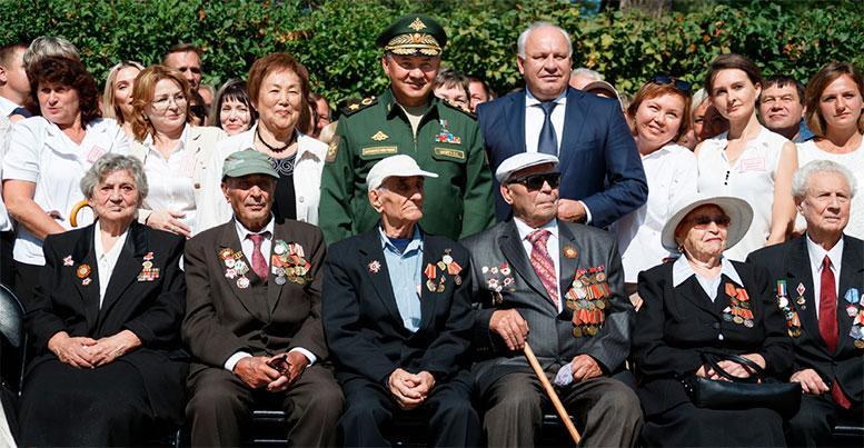 Рабочая поездка Министра обороны России генерала армии Сергея Шойгу в Центральный военный округ