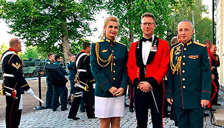 Центральный военный оркестр Минобороны России покорил сердца финских зрителей