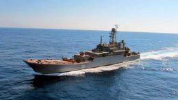 БДК Черноморского флота «Азов» и «Николай Фильченков» вернулись в Севастополь после выполнения задач в Средиземном море