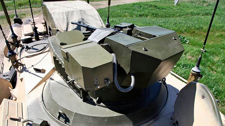 Соединения РВСН получают противодиверсионные машины «Тайфун-М» для охраны ракетного комплекса «Ярс»