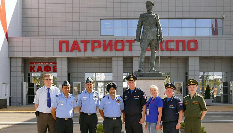 Конгрессно-выставочный центр «Патриот» посетила индийская военная делегация
