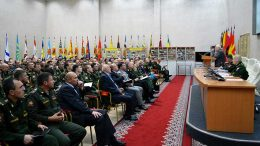 В Военном университете Минобороны России прошли традиционные Суворовские чтения