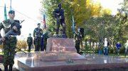 В Иркутске торжественно открыт сквер и памятник ветеранам-десантникам