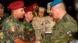 Российские десантники прибыли в Египет для участия в совместном антитеррористическом учении «Защитники Дружбы -2018»