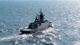 Новейший корвет «Громкий», построенный для Тихоокеанского флота, вышел на заводские ходовые испытания