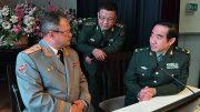 Центральный военный клинический госпиталь имени А.А. Вишневского посетила китайская военно-медицинская делегация