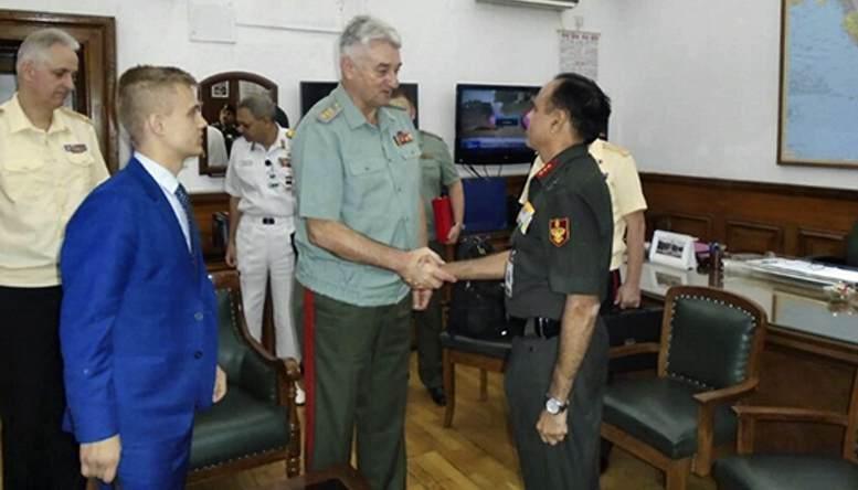 Делегация академии российского Генштаба завершила визит в Индию