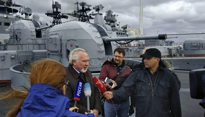 На ТОФ принимают рабочую группу Общественного совета при Минобороны России