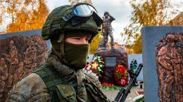 Мемориальный комплекс открыли в Нижнем Новгороде на территории соединения разведки Западного военного округа