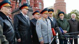 В Москве прошли торжественные мероприятия, посвященные Дню Сухопутных войск