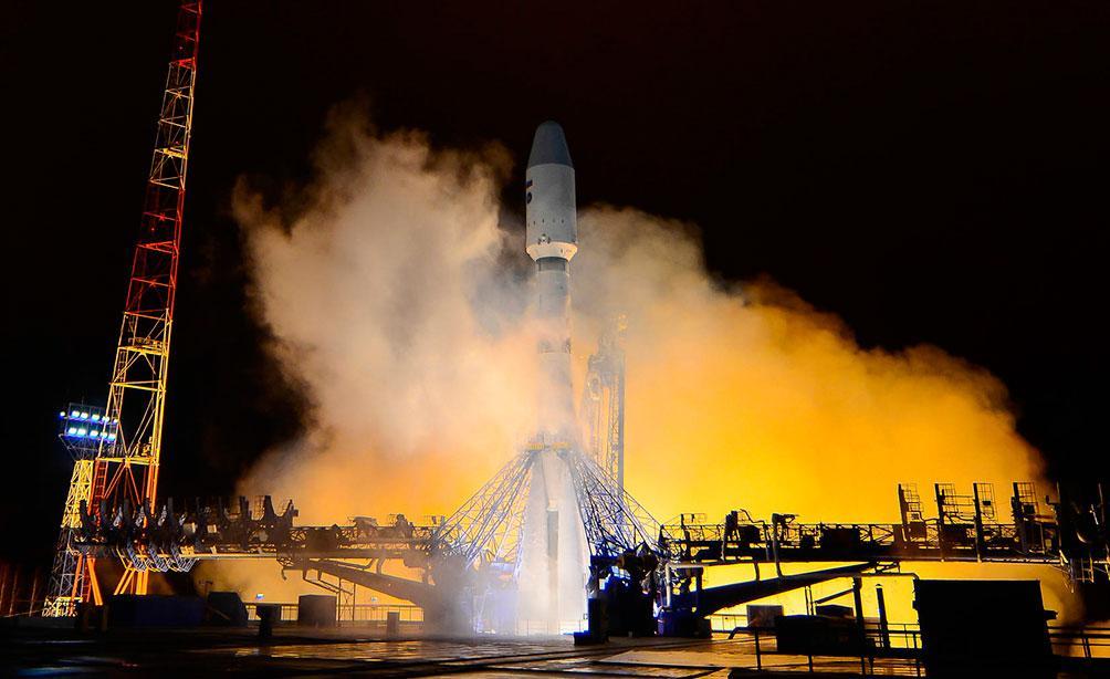 Воздушно-космические силы провели успешный пуск ракеты-носителя «Союз-2» с космодрома Плесецк