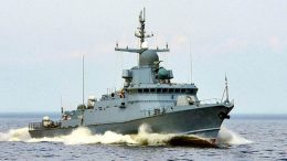 23 октября состоится церемония спуска на воду малого ракетного корабля нового поколения проекта 22800 «Буря»