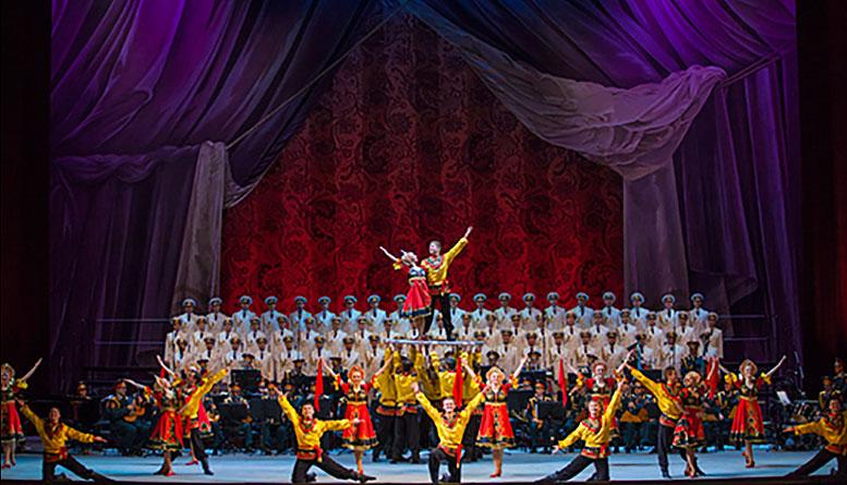 Академический ансамбль песни и пляски Российской Армии имени А.В. Александрова отмечает 90-летний юбилей