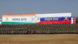 Участники учения «Индра-2018».