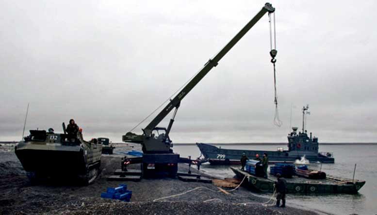 В следующем году сводное экологическое подразделение Восточного военного округа продолжит работы по очистке территорий на острове Врангеля.