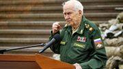 Выступает генерал армии М.А. Гареев.