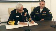 Военная делегация Индии посетила Нахимовское военно-морское училище и крейсер «Аврора»
