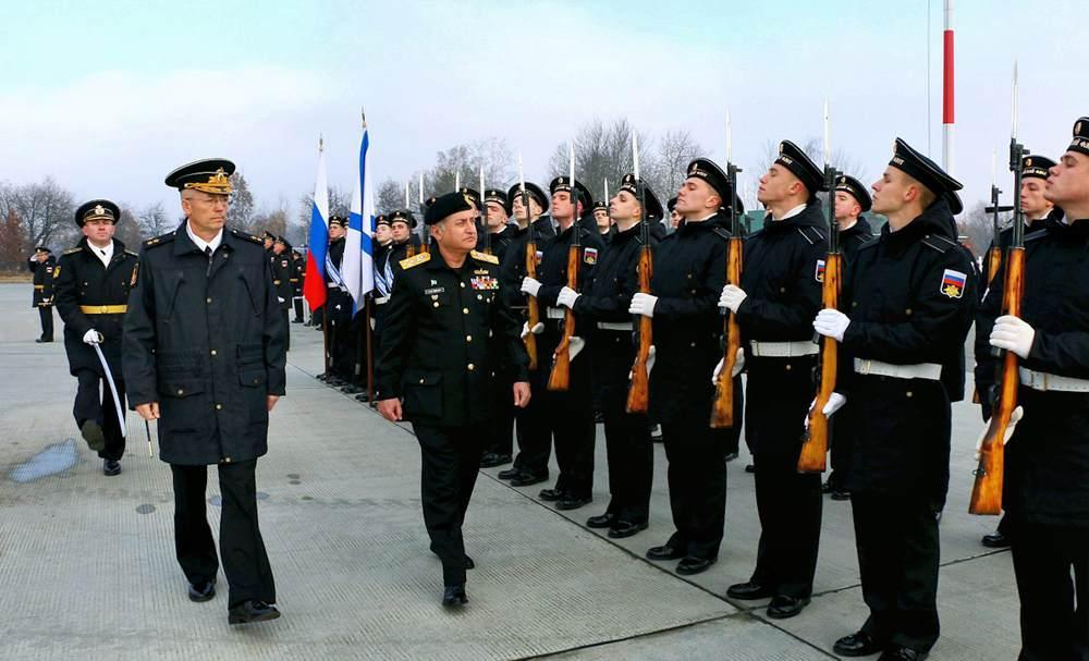 Визит пакистанской военной делегации под руководством начальника штаба ВМС Пакистана адмирала Зафара Махмуда Абасси на Балтийский флот