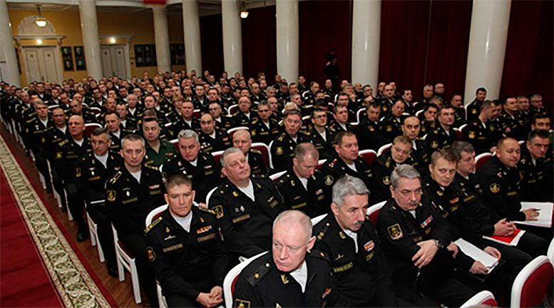 Военный совет ВМФ России в Санкт-Петербурге определил лучшие объединения, соединения и экипажи по итогам 2018 года