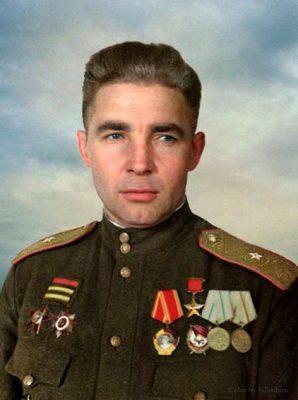 В.Ф. Маргелов после войны.