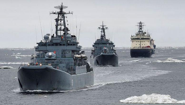 Краснознамённая Кольская флотилия разнородных сил признана лучшим объединением Северного флота.