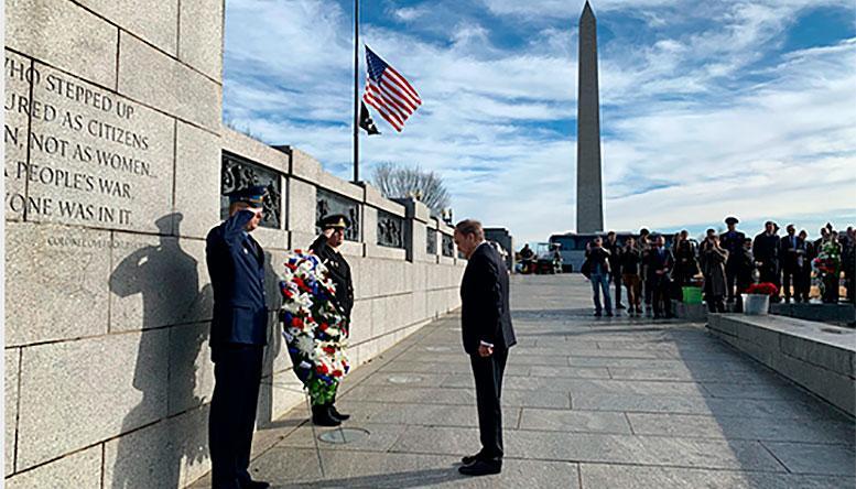 В Вашингтоне прошла акция, посвященная Дню Неизвестного солдата