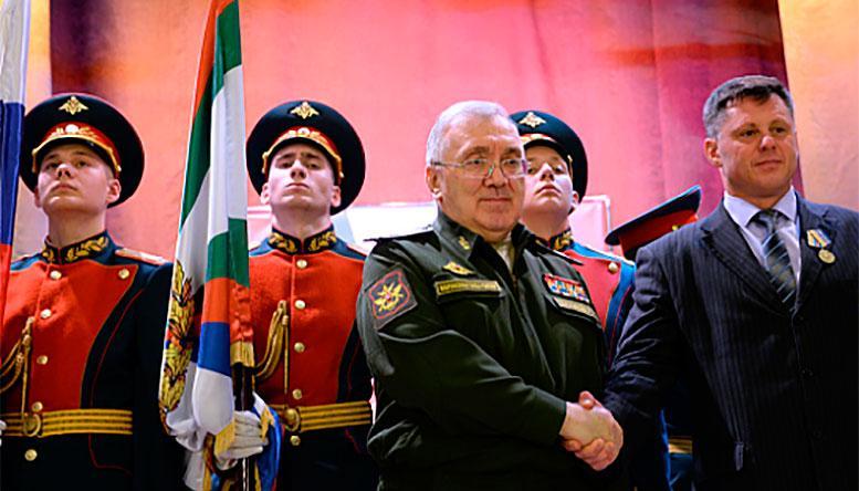 Первый замминистра обороны России Руслан Цаликов поздравил со 100-летним юбилеем военные суды