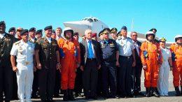 Самолеты дальней авиации совершили перелет с аэродромов Российской Федерации в международный аэропорт республики Венесуэла