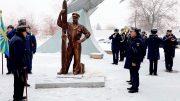 В Ахтубинске открыли памятник, посвященный инженерно-техническому составу авиации