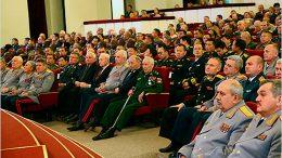 Военная академия Генерального штаба отмечает 186-летие
