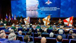 В Москве под руководством Верховного Главнокомандующего Вооруженными Силами России Владимира Путина прошло расширенное заседание Коллегии Минобороны