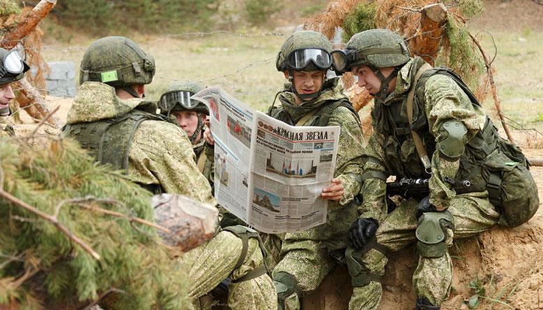 Ни одно тактическое учение без «Звёздочки» не мыслится. Фото Вадима Савицкого.