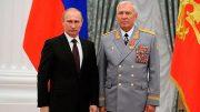 М.А. Моисеев на церемонии награждения орденом Александра Невского, июль 2014 г.