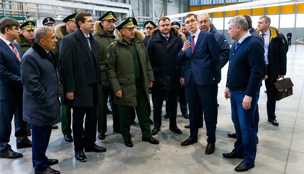 Первый серийный модернизированный стратегический бомбардировщик Ту-160М должен поступить в войска в 2021 году
