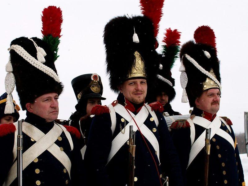 Так выглядели пехотинцы французской наполеоновской армии