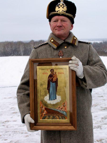 Икона Богородицы «Одигитрия Вяземская Ратная» подарена Бородинскому музею