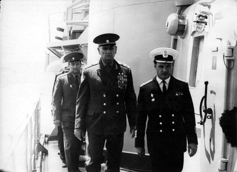 1974 июнь Очаков с МО СССР Гречко А.А.