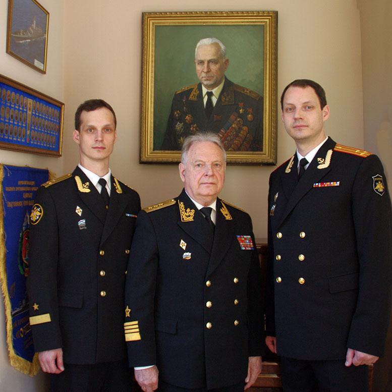 На службе Отечеству уже четвёртое поколение Касатоновых.