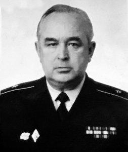 Контр-адмирал в отставке Фатигаров Юрий Александрович, 01.10.1933 - 02.02.2019.