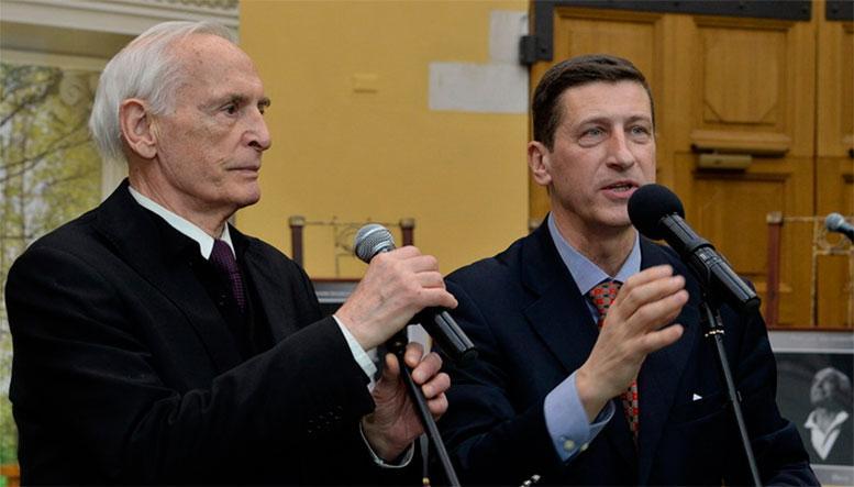 Василий Лановой и Вячеслав Моцардо
