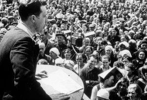 Митинг рабочих, посвящённый выступлению по радио И.В.Сталина 3 июля 1941 г.